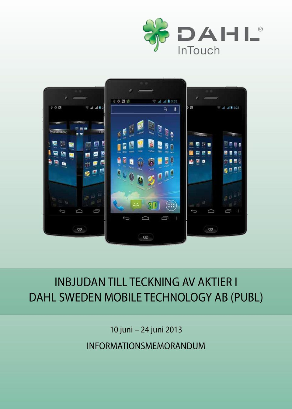 TECHNOLOGY AB (PUBL) 10 juni