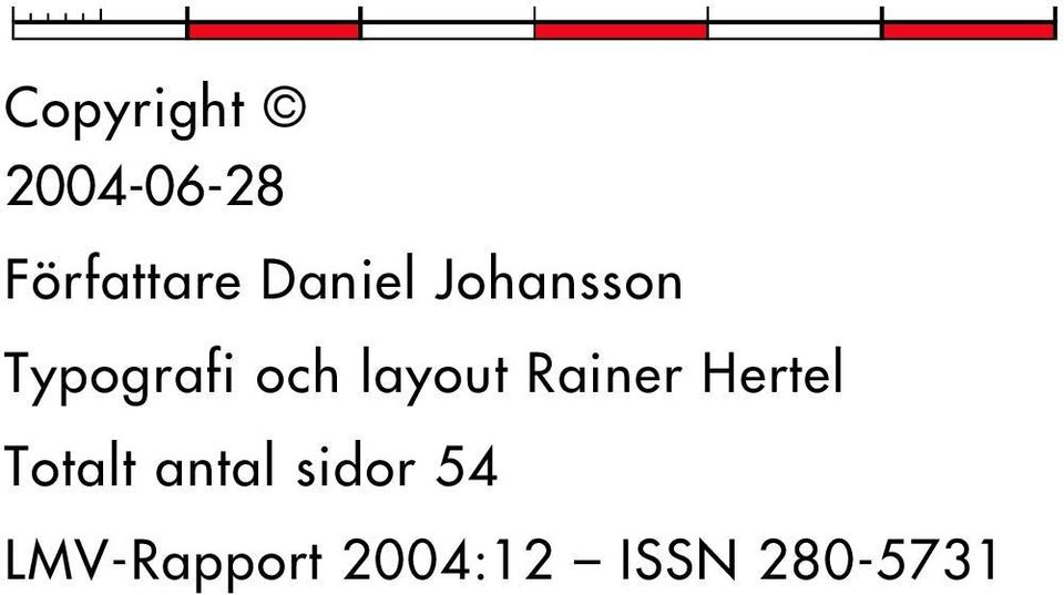 layout Rainer Hertel Totalt antal