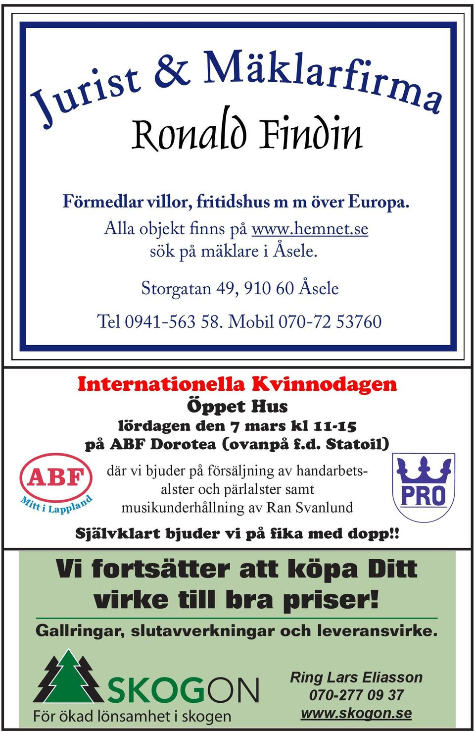 Mobil 070-72 53760 Internationella Kvinnoda