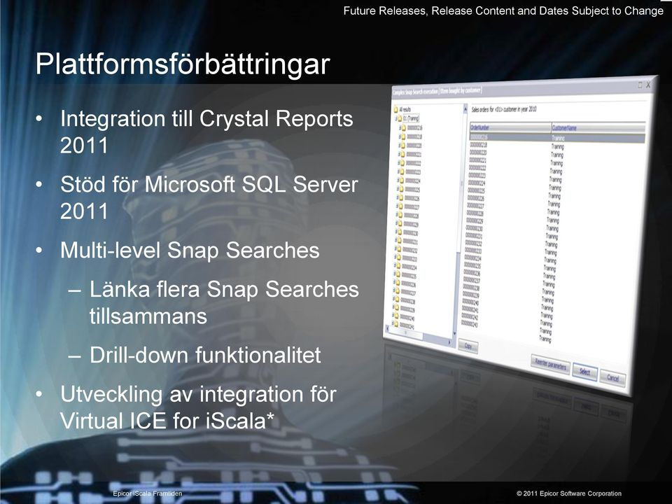 Microsoft SQL Server 2011 Multi-level Snap Searches Länka flera Snap
