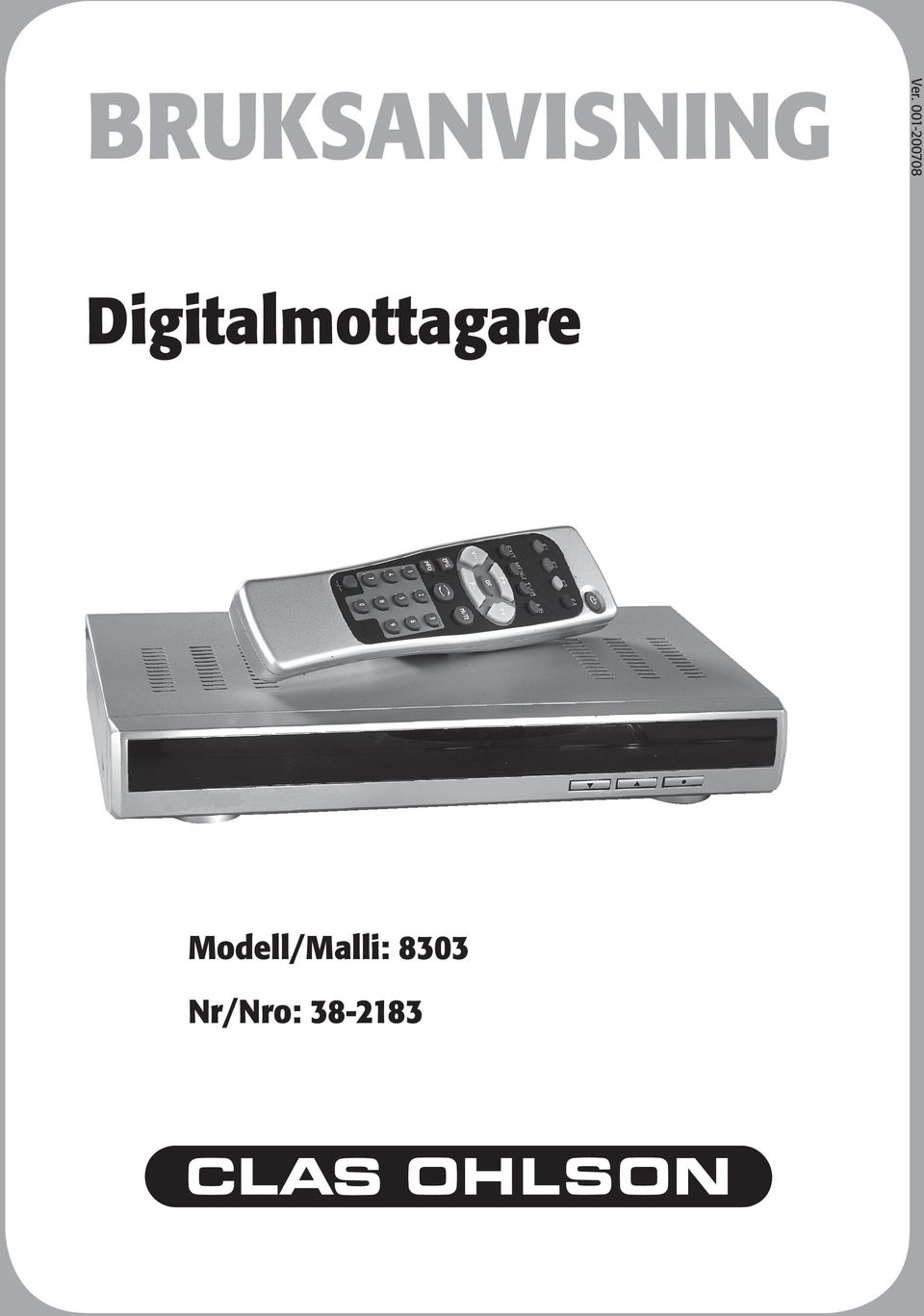 Digitalmottagare