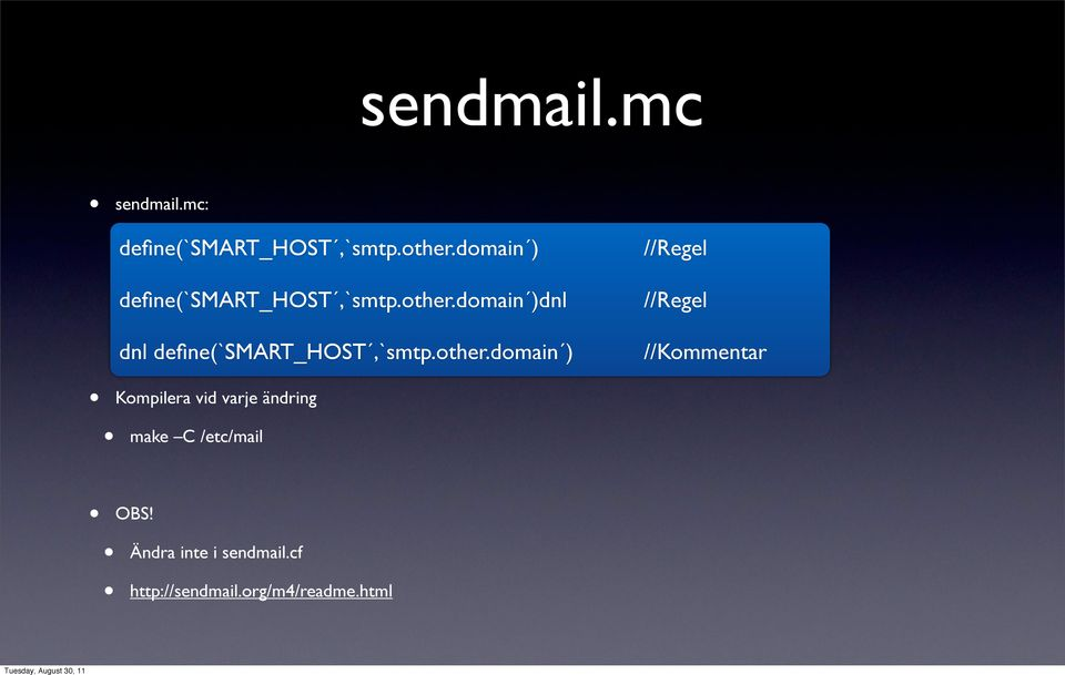 domain )dnl dnl define(`smart_host,`smtp.other.