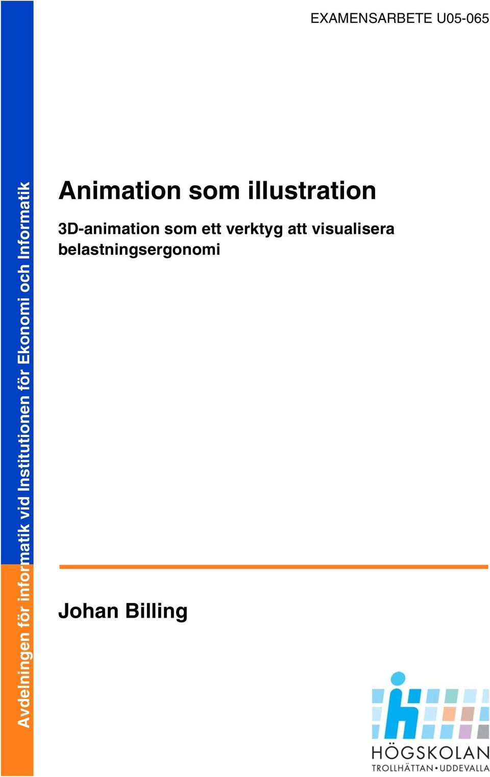 Animation som illustration 3D-animation som ett