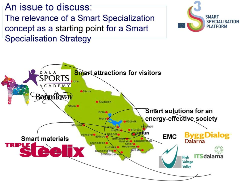 Specialisation Strategy Smart attractions for visitors