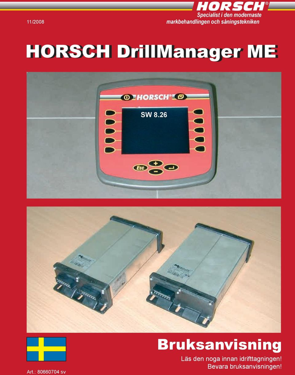 DrillManager ME SW 8.26 Art.