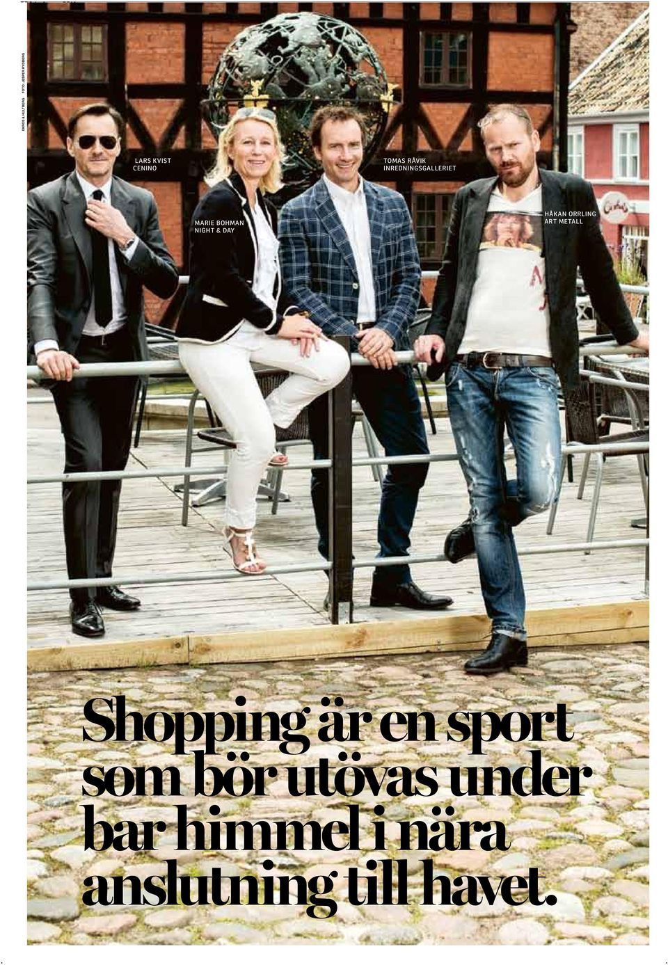 HÅKAN ORRLING ART METALL Shopping är en sport
