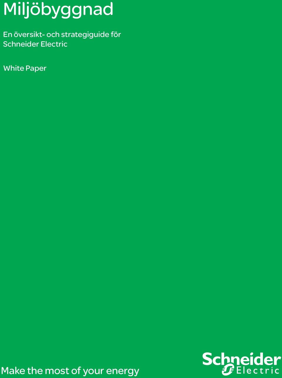 Schneider Electric White