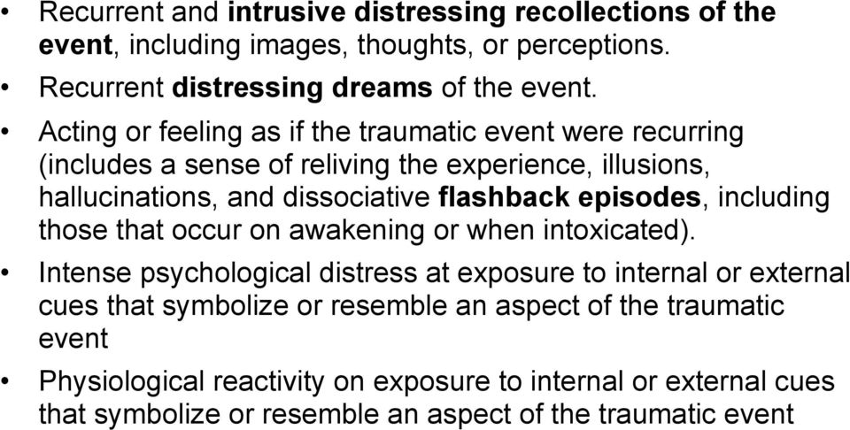 episodes, including those that occur on awakening or when intoxicated).