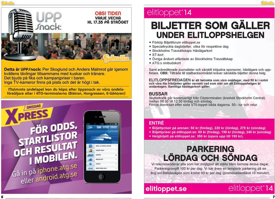 Biljettforum elitloppet.