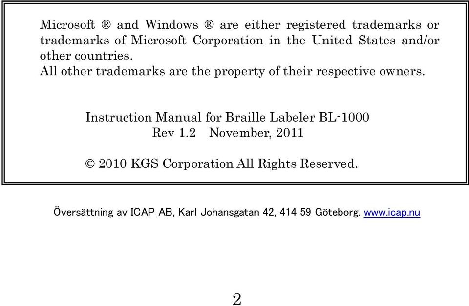 All other trademarks are the property of their respective owners.