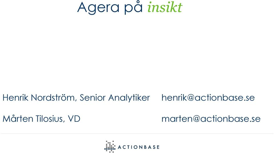 Senior Analytiker Mårten