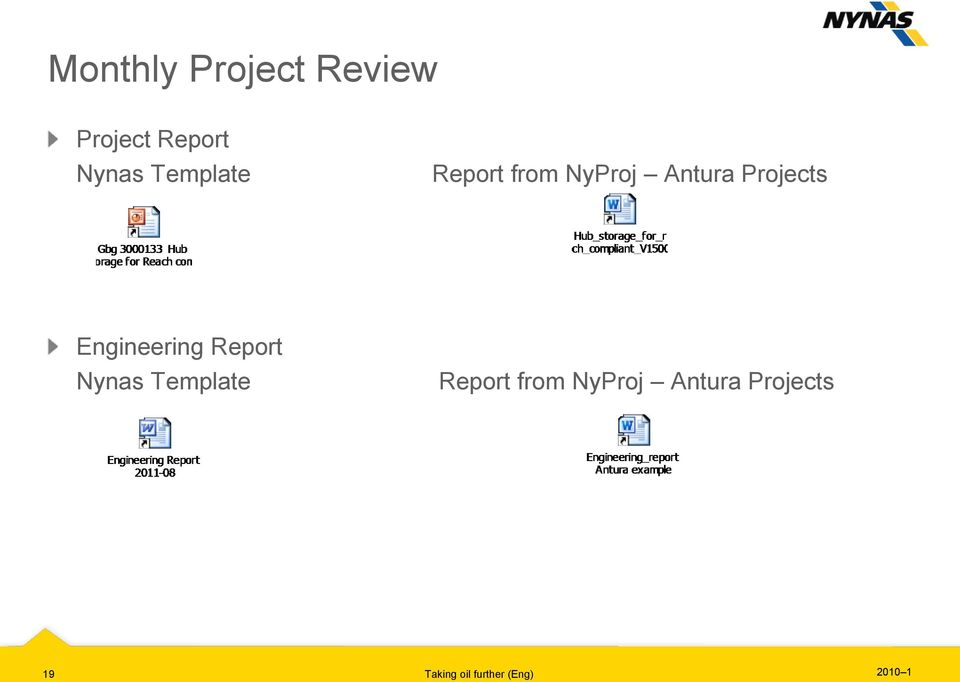 Engineering Report Nynas  19 Taking oil further