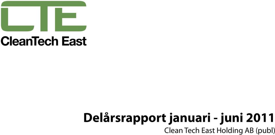 Clean Tech East