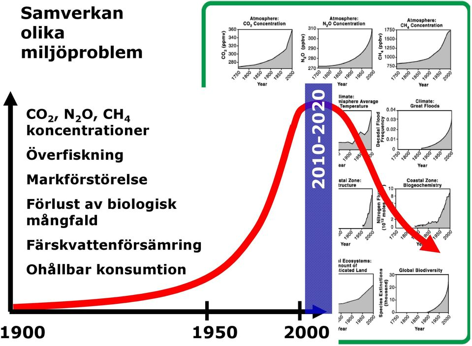 mångfald Response to the drivers of the Anthropocene Förlust