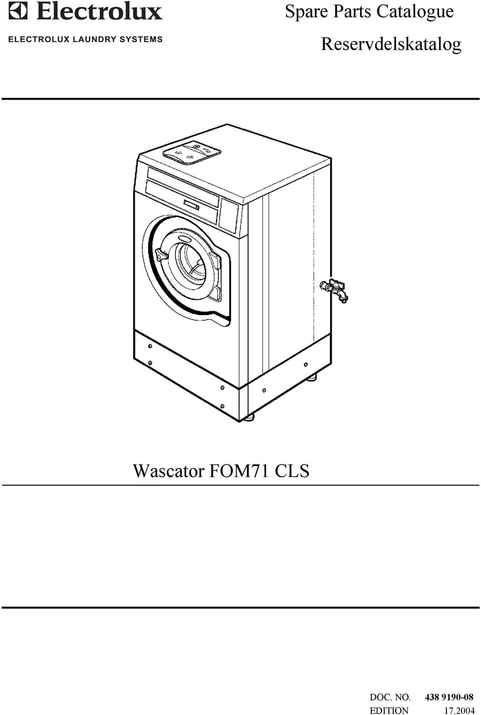 Wascator FOM71 CLS DOC.