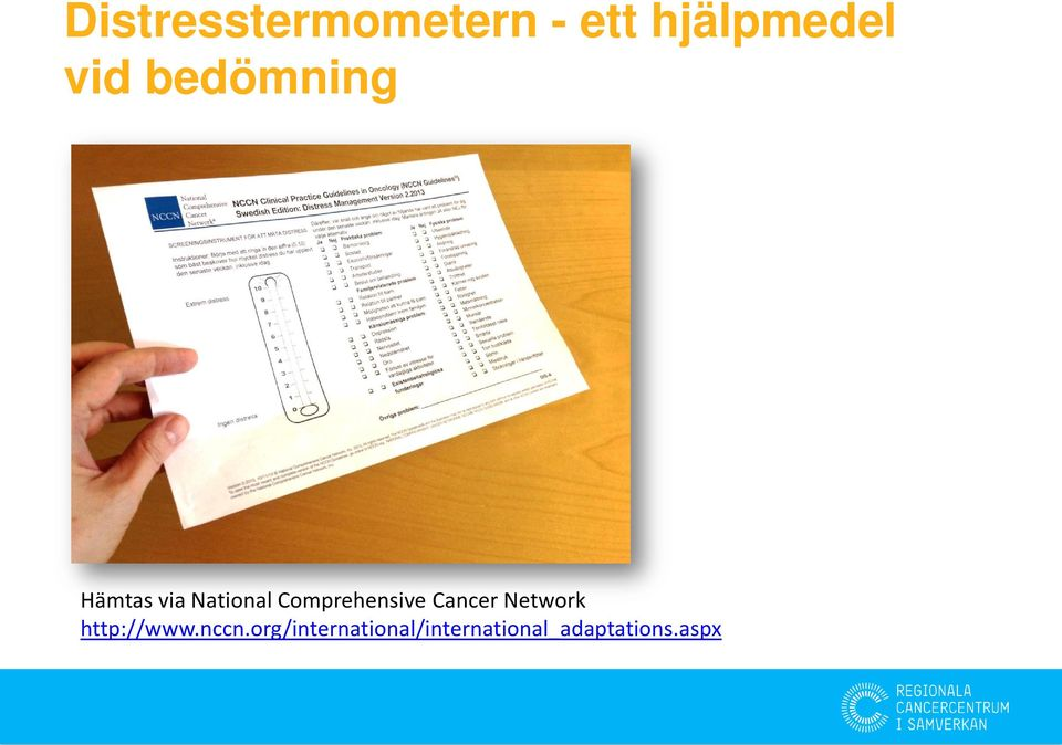 Comprehensive Cancer Network http://www.