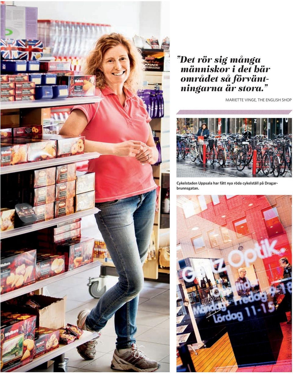 MARIETTE VINGE, THE ENGLISH SHOP Cykelstaden