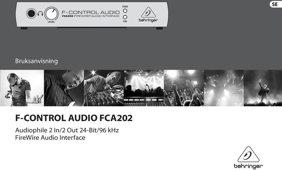 2 In/2 Out 24-Bit/96 khz