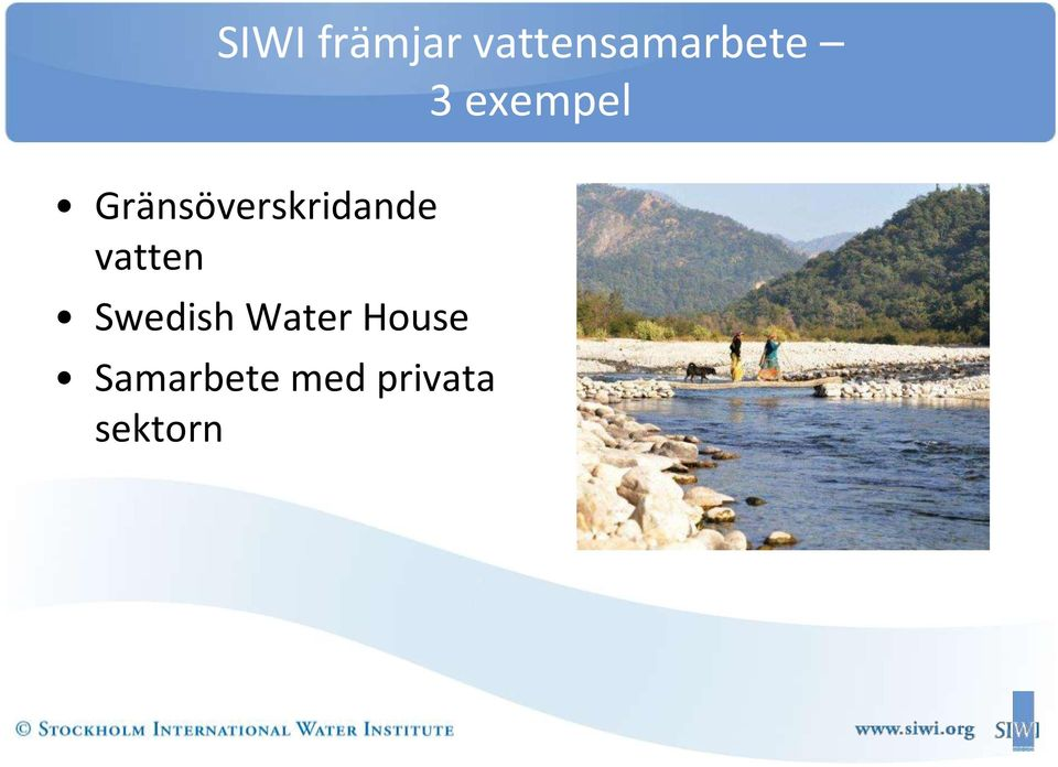 vatten Swedish Water House