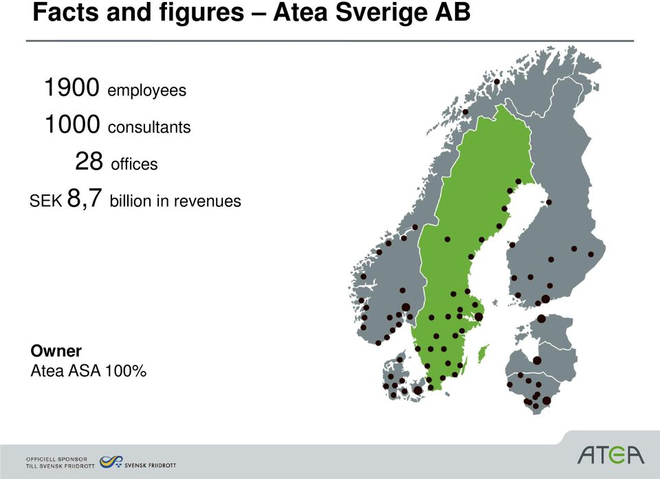 consultants 28 offices SEK 8,7