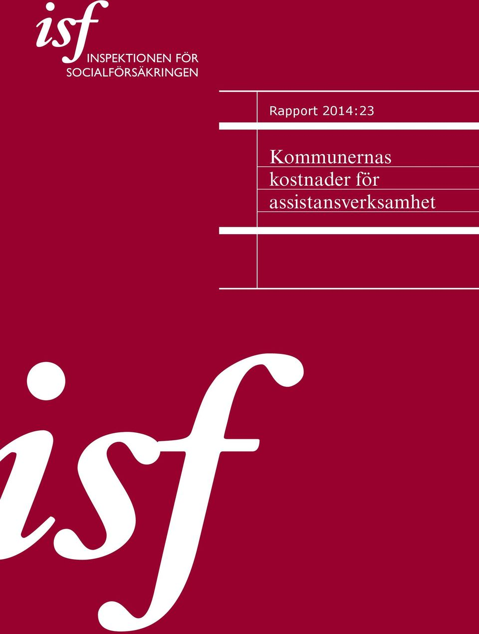 Rapport 2014:23