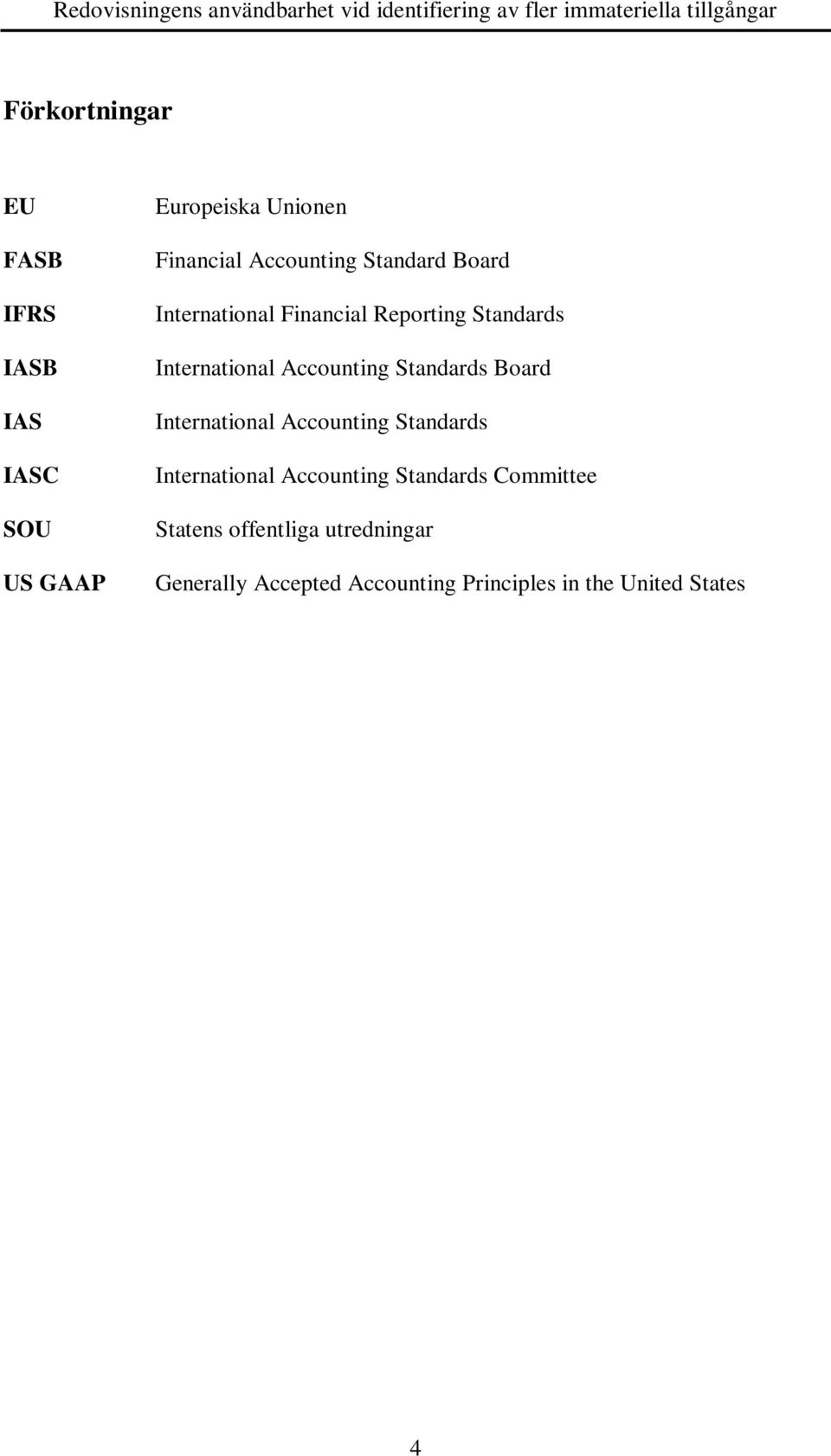 Accounting Standards Board International Accounting Standards International Accounting