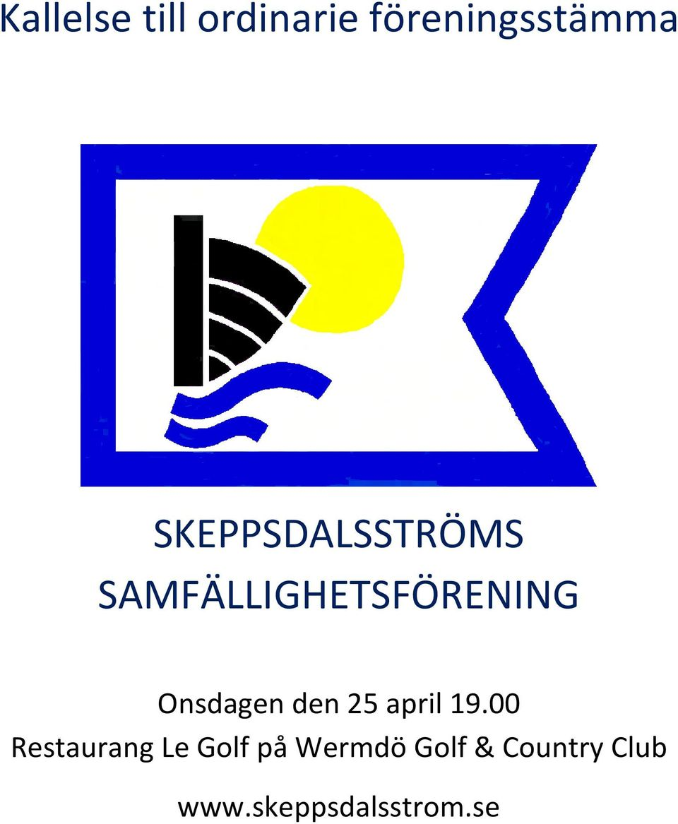 Onsdagen den 25 april 19.