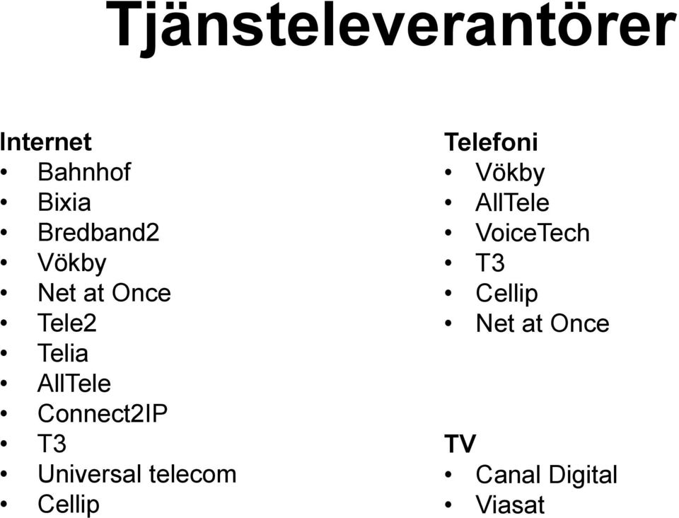 Connect2IP T3 Universal telecom Cellip Telefoni