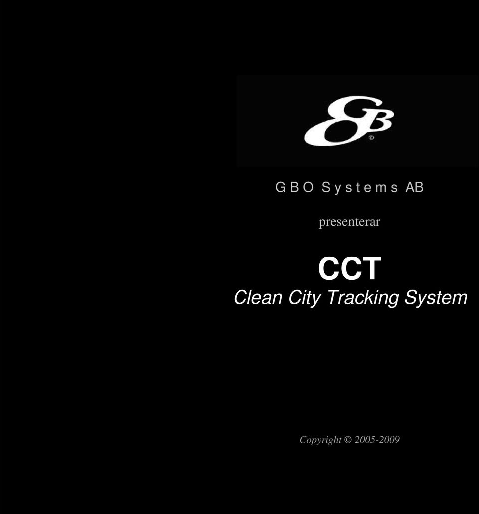Clean City Tracking