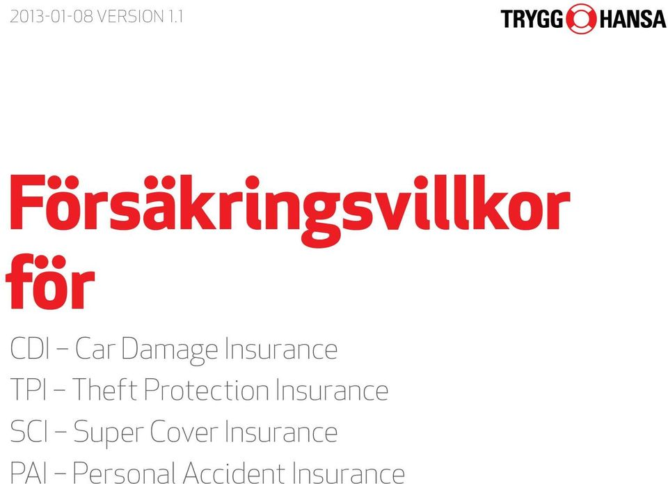 Insurance TPI Theft Protection