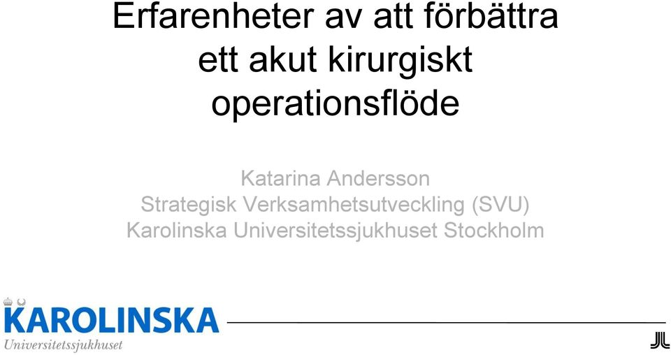 Andersson Strategisk