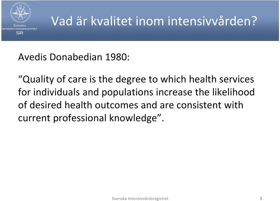 services for individuals and populations increase the likelihood of