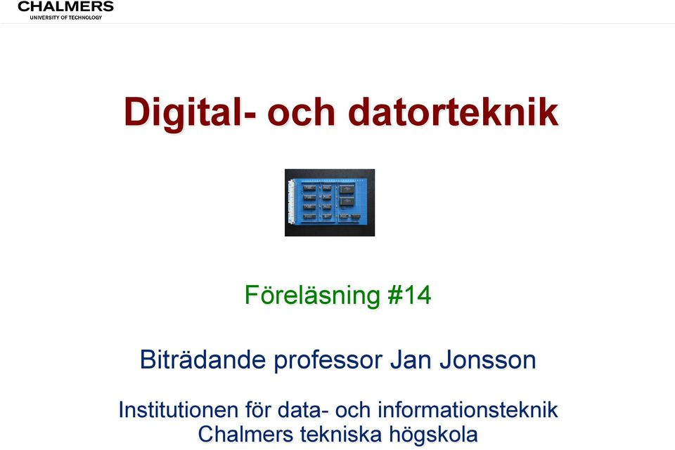Institutionen för data- och
