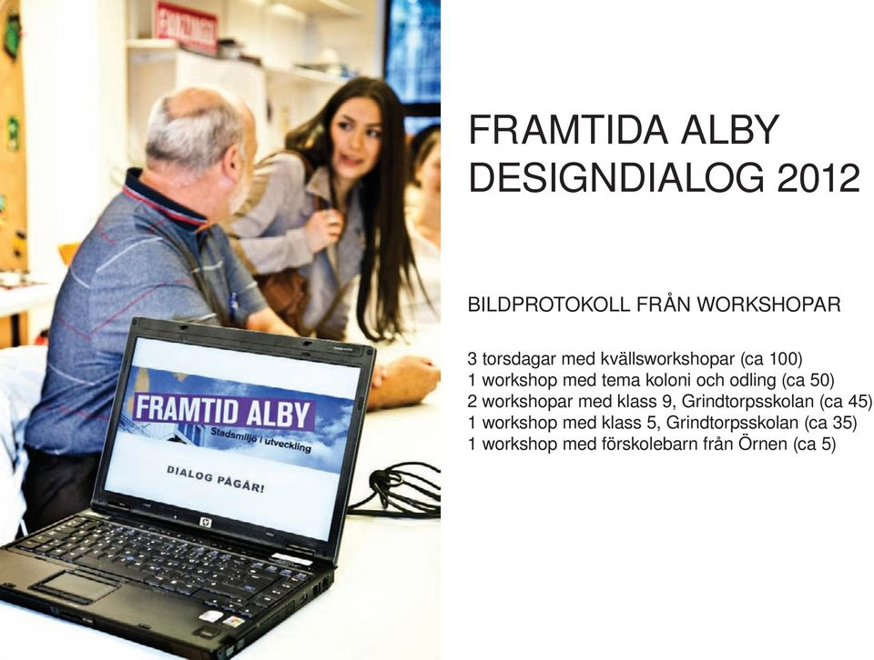 50) 2 workshopar med klass 9, Grindtorpsskolan (ca 45) 1 workshop med