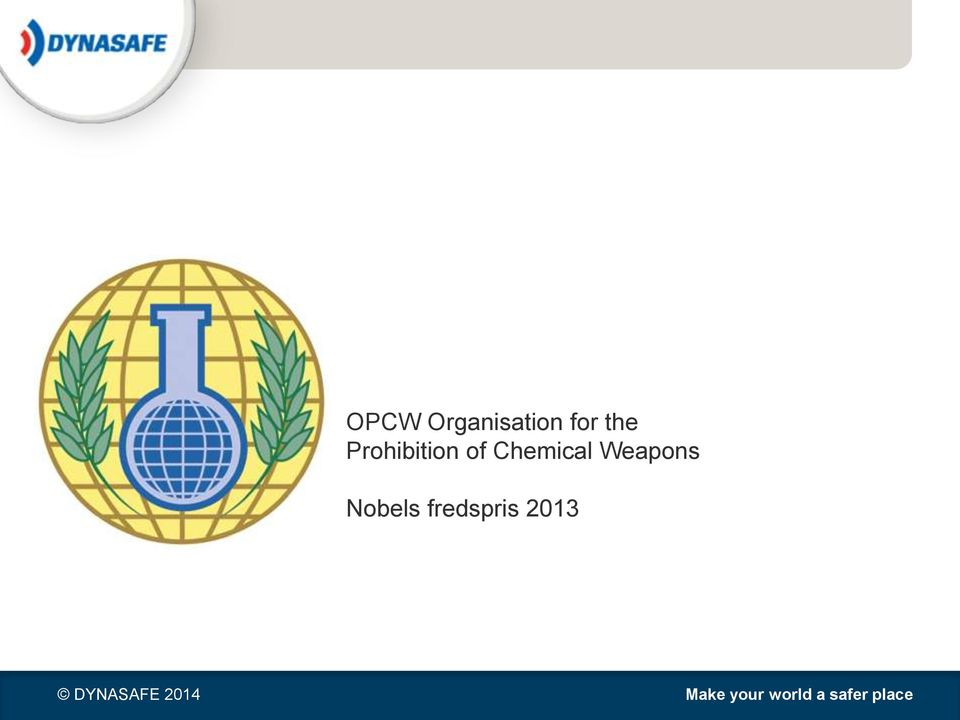 of Chemical Weapons