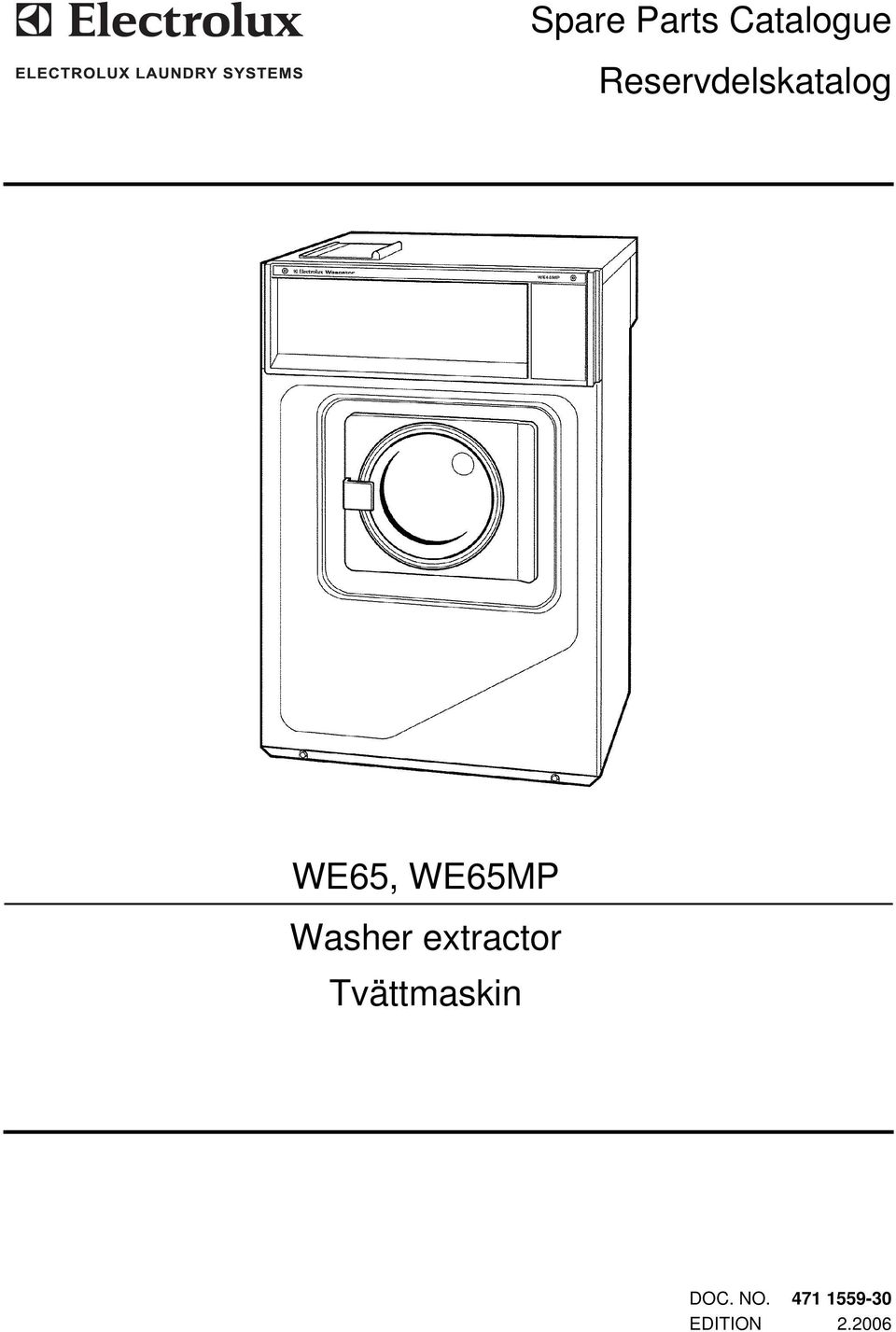 WE65MP Washer extractor