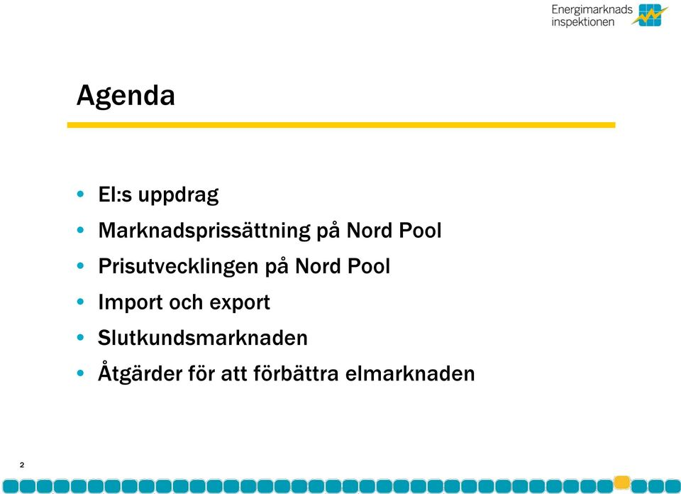 Pool Import och export