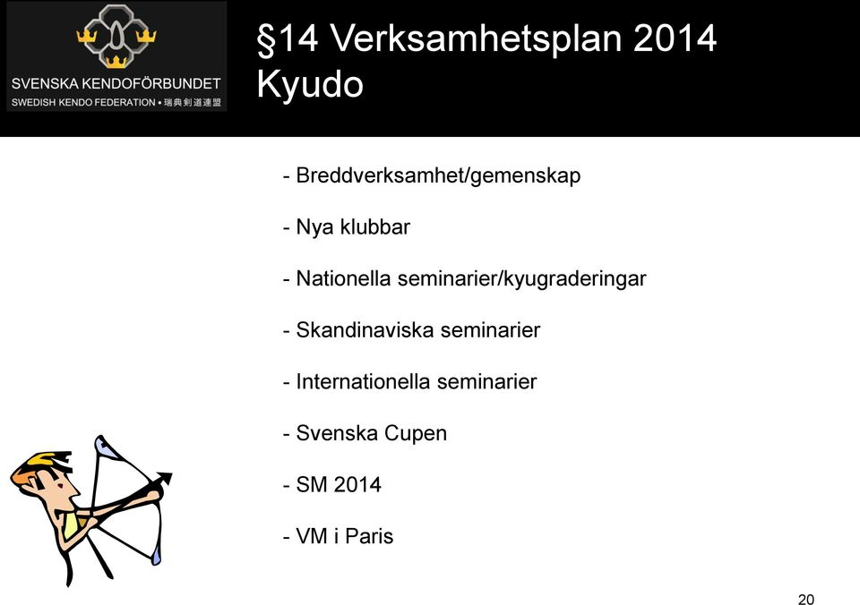 Nationella seminarier/kyugraderingar -