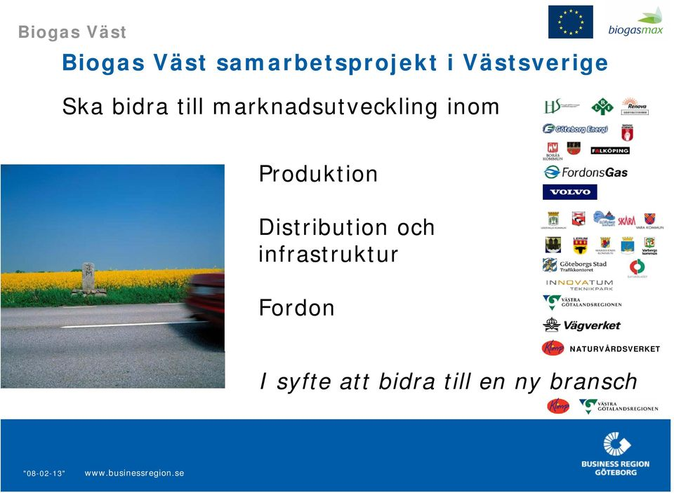 Produktion Distribution och infrastruktur