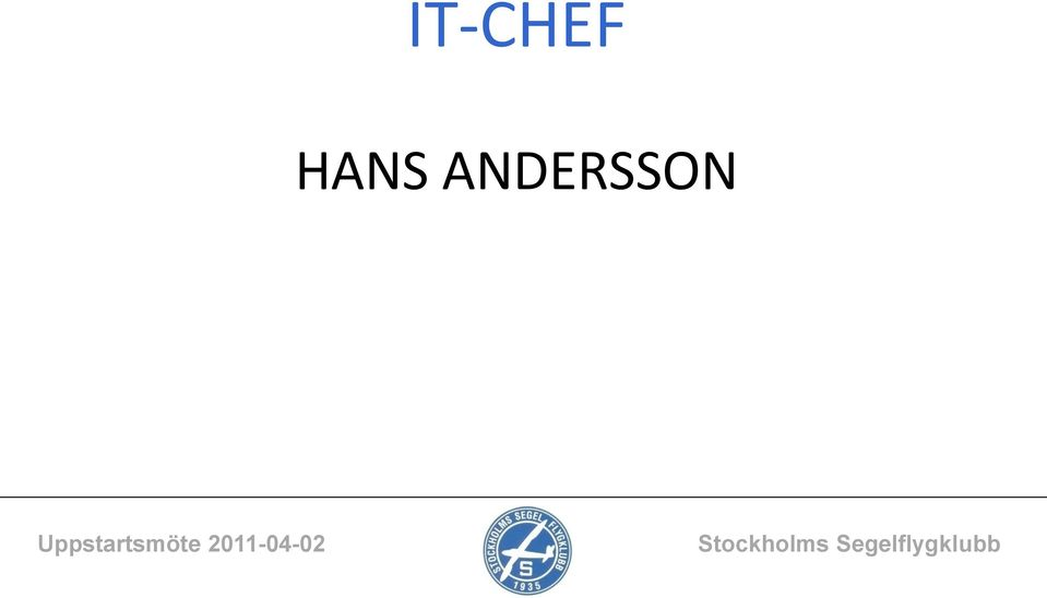 ANDERSSON