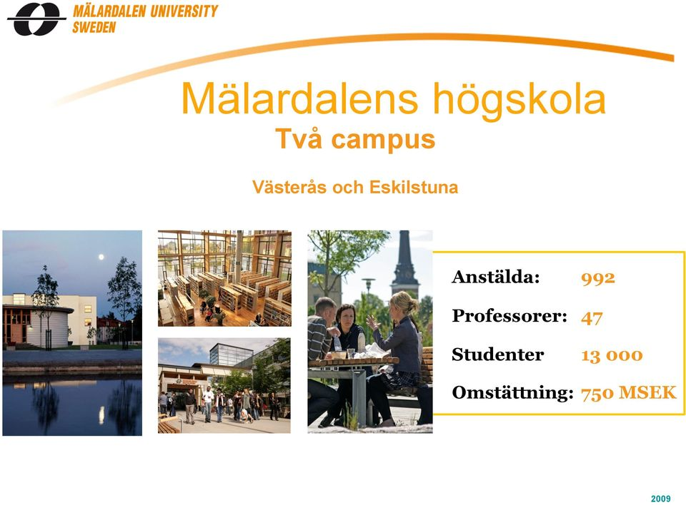Anstälda: Professorer: Studenter