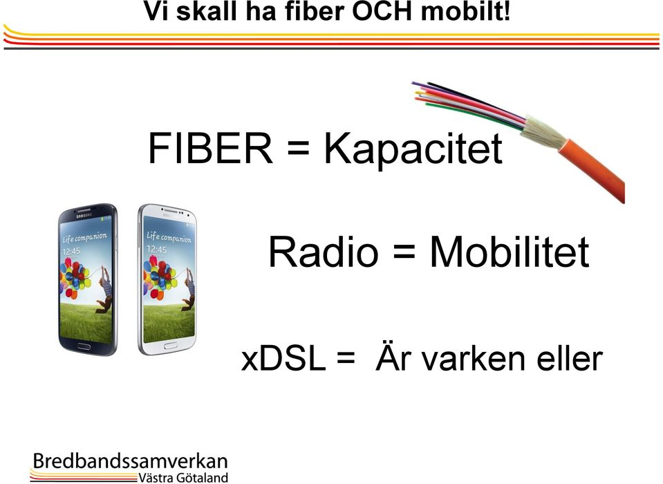 FIBER = Kapacitet