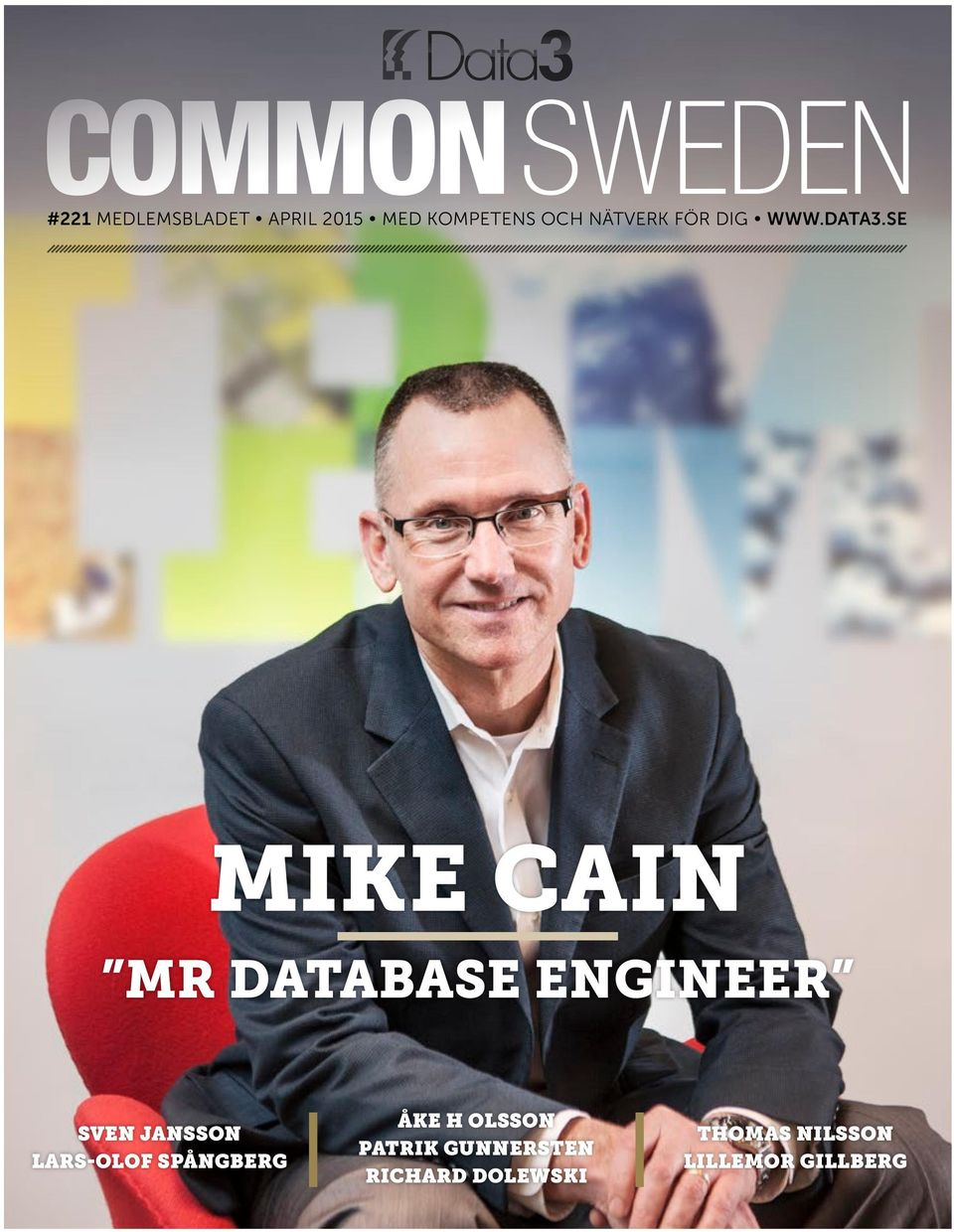 SE MIKE CAIN MR DATABASE ENGINEER SVEN JANSSON
