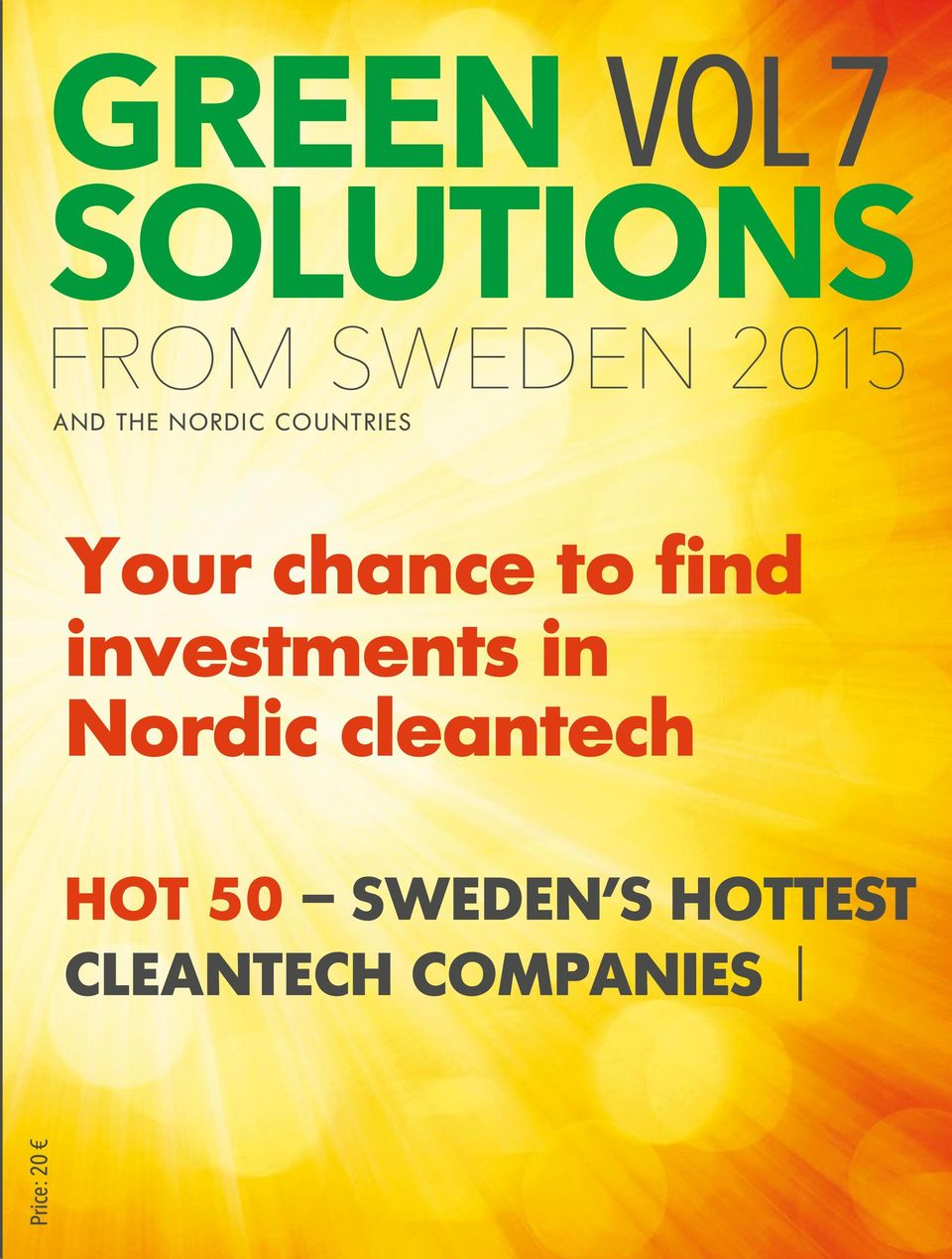 investments in Nordic cleantech HOT 50