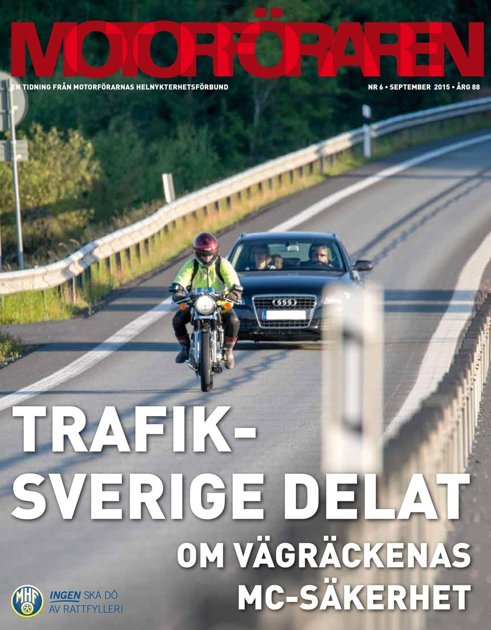 september 2015 Årg 88 TRAFIK-