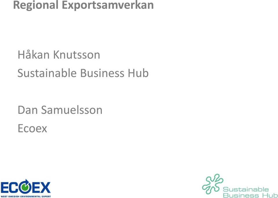 Knutsson Sustainable