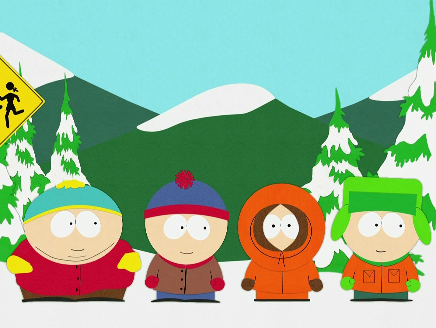 SOUTH PARK From 28 September Comedy Central will air the 18th season of South Park.