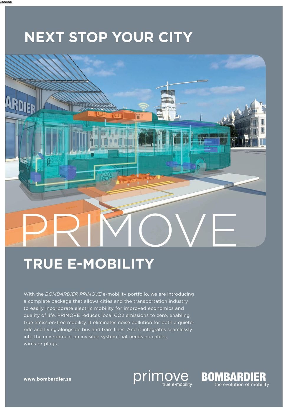 PRIMOVE reduces local CO2 emissions to zero, enabling true emission-free mobility.