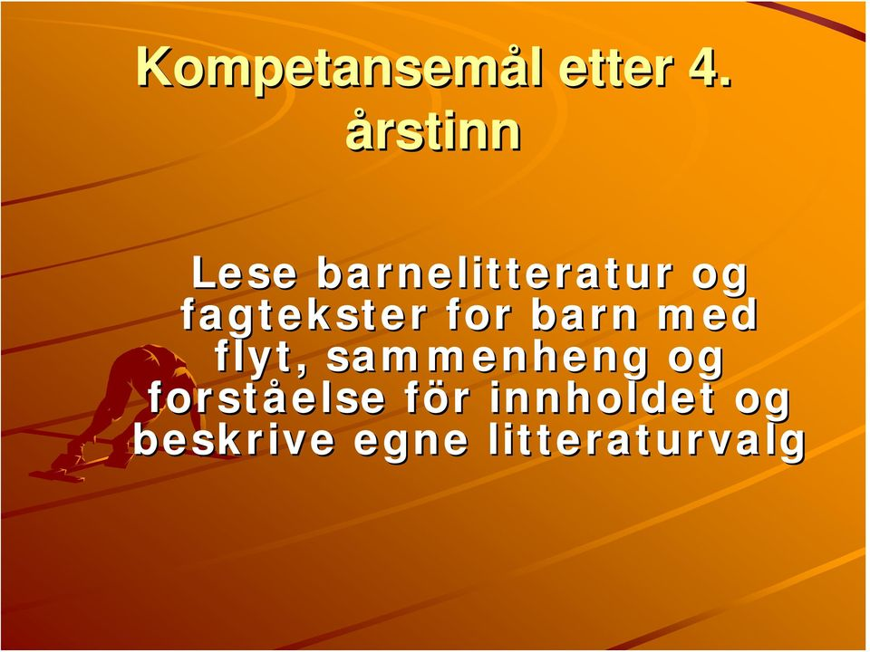 fagtekster for barn med flyt,