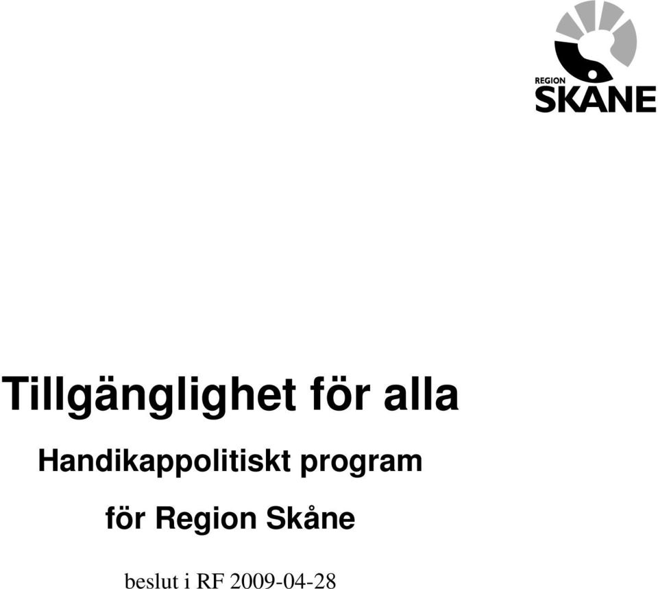 program för Region